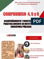4. Compromisos 4, 5 y 6
