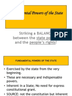 Powers of the State