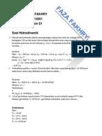 Soal Hidrostatis Dan Hidrodinamik