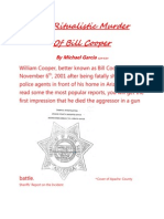 The Ritualistic Murder of Bill Cooper