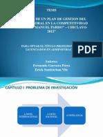 Clima Laboral en Manuel Pardo