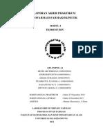 Laporan Biofar-farkin Modul 4 eksresi urin