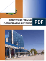 Directiva Poi 2015