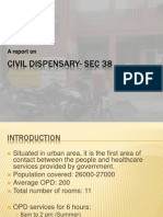 Civil Dispensary- Sec 38