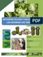 Iso 9001 -Implementacion de Alcachofas en Conserva