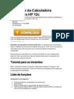 Emulador Da Calculadora Financeira HP 12c