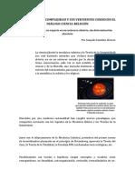 La Teoría de La Complejidad y Sus Vertientes Conducen El Diálogo Ciencia-religión. Joaquín González Álvarez