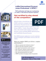 Certified International Payment Systems Professional