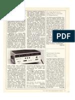 LA1000 Test & Measurement Magazine Article 1981