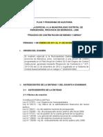 Plan y Programa de Auditoría-OCI Kety