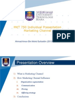 Marketing Channel Mkt750