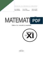 Matematica Clasa XI