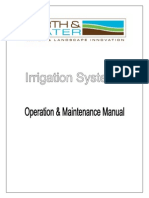 Operation and Maintenance Manual - Irrigation Systems