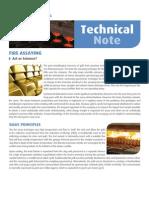 Fire Assay Technical aure
