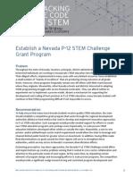 Vision State P12 STEM Challenge Grant