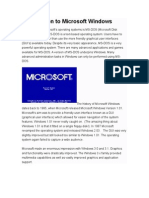 introduction to microsoft windows
