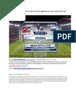 Kết Quả Arsenal vs Newcastle đêm nay 13/12