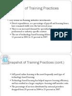 Training Practices