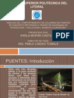 """Análisis del Comportamiento de Columnas de Puentes de Concreto Reforzado a través de Diagramas de Interacción  y Relaciones  Momento-Curvatura"""""""