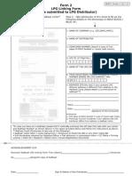 Form 2 LPG Linking Form - PAHAL/DBTL