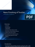 Nano Finishing of Textiles