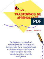 Trastornos de Aprendizaje2