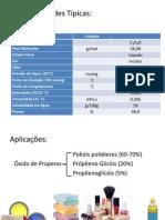 Propriedades e Aplicações Óxido de Propeno