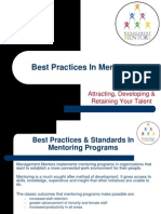 Best Practices in Mentoring by Management Mentors