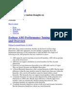 Essbase ASO Performance Tuning-II