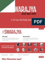 Swarajya Presskit 20 November 2014