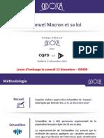 Emmanuel Macron et sa loi