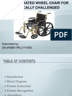 Voice Operated Wheel Chair