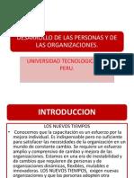 A.- Desarrollo de Las Personas y de Las Organizaciones