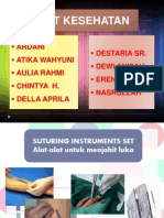suturing instrument set