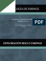 Semiologia de La Faringe