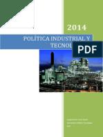 Politica Industrial y Tecnologica