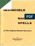 Invincible Magick Spells of Mullah-Sensees