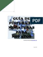 Guía de Pintura de Miniaturas Para Novatos v1.0