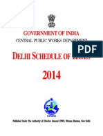 Delhi Schedule of Rates Civil - 2014