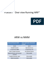 Praktek Over View Running WRF