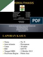 Ureterolithiasis SLIDE