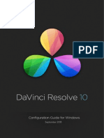 Davinci Resolve Windows Configuration Guide Oct 2013
