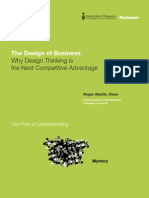 The Design of Business Why Design Thinking