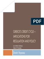 Greece's Credit Cycle