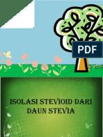 Isolasi Stevioid Dari Daun Stevia (1) (1)