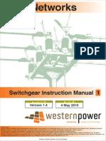 Switchgear Instruction Manual 1 Version 1 4 (2)