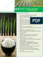 12th December,2014 Daily Global Rice E-Newsletter by Riceplus Magazine