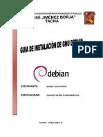 Guia de instalación DEBIAN