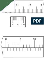 Vernier calliper + micrometer screw gauge
