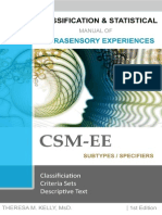 Classification and Statistical Manual of Extrasensory Experiences, 1st Edition